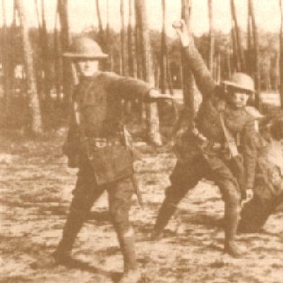 Martin Marix Evans: American Voices of World War I Grenades In World War 1