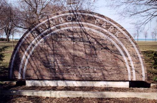 Rainbow Division Monument