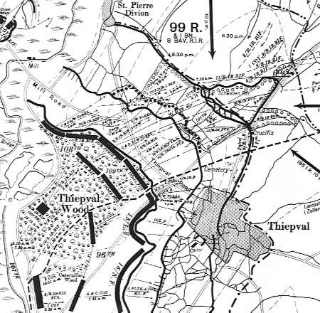 Trenches on the Web Map Room The Somme 1Jul1916