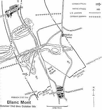 Belleau Wood Map