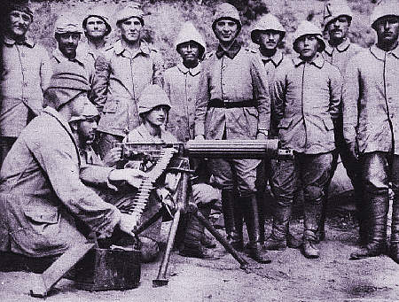 First World War Machine Guns