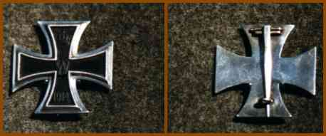 Trenches on the Web - Special: The 1914 German Iron Cross