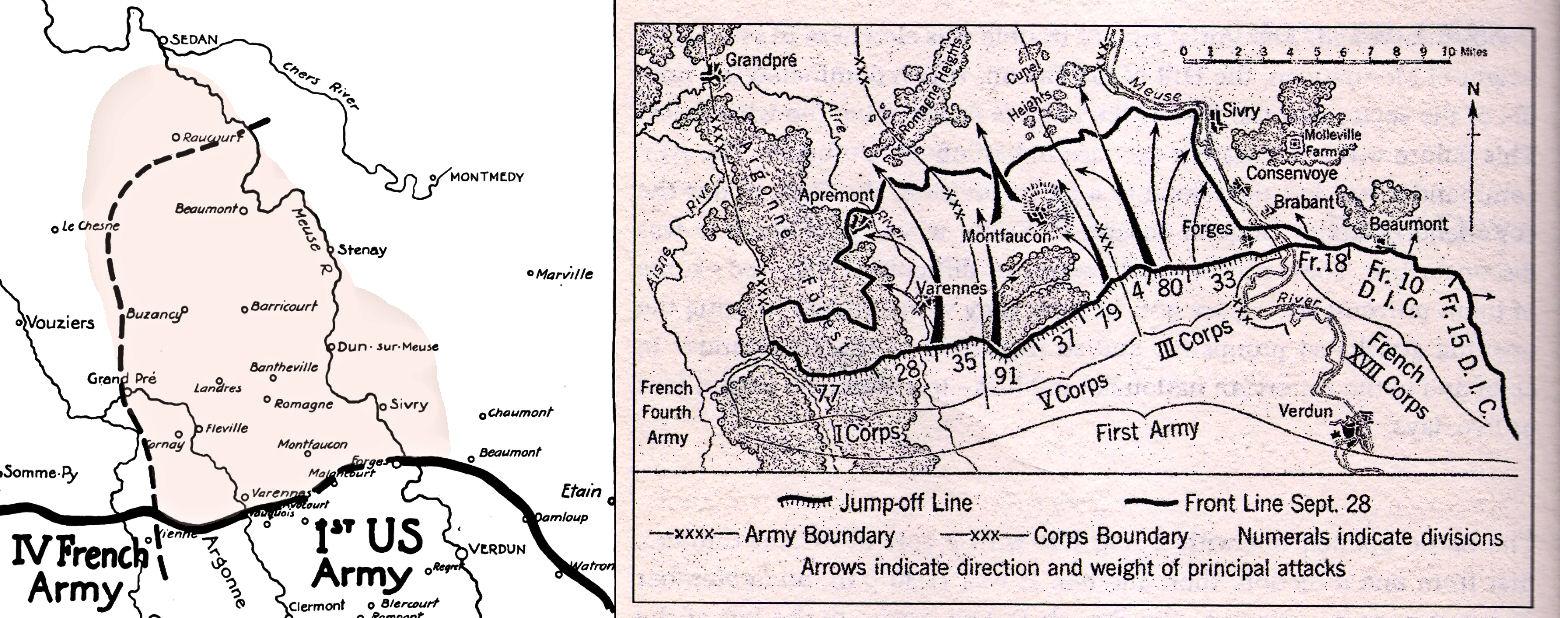 Meuse Argonne操作