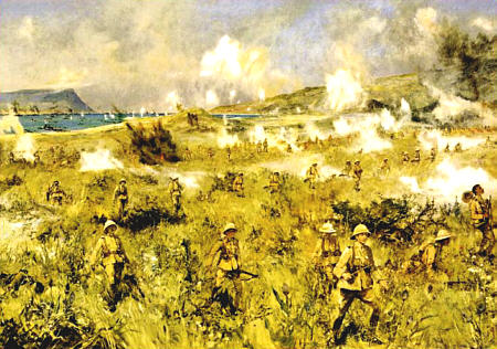 The Great War Society: 90th Anniversary - Second Landing at Gallipoli