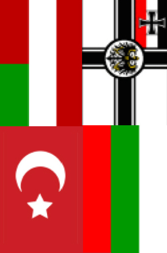 Ottoman Empire Flag During Ww1 St. Mihiel Trip...